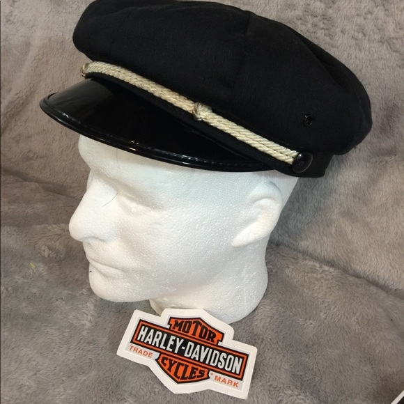 Authentic Vintage 1940 Harley Captains Hat